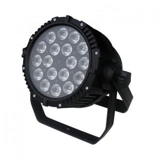 LED PAR свет 18x18Вт RGBWAUV уличный прожектор