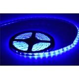 Светодиодная лента SMD 5050, 300 Led, IP65, 12V ,синий