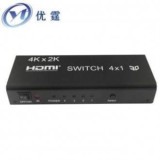 Сплитер HDMI Switch 4 in 1 с пультом