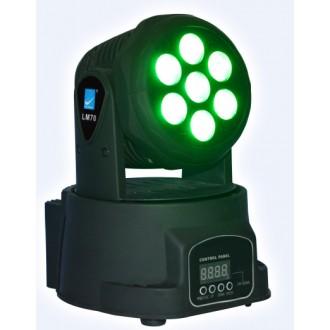 Светодиодный прибор WASH 7x8Вт RGBW