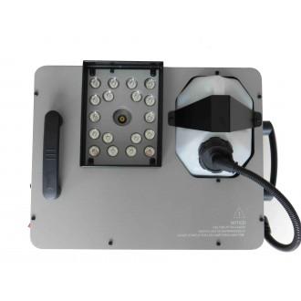 Генератор дыма с вертикальным выбросом, LED подсветка 24х3Вт