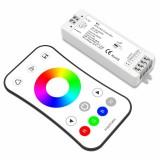 RGB контроллер 2.4G 12-24v 3x4A 3x(48-96)w без пульта